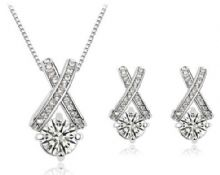Exolte Necklace and Earrings Set